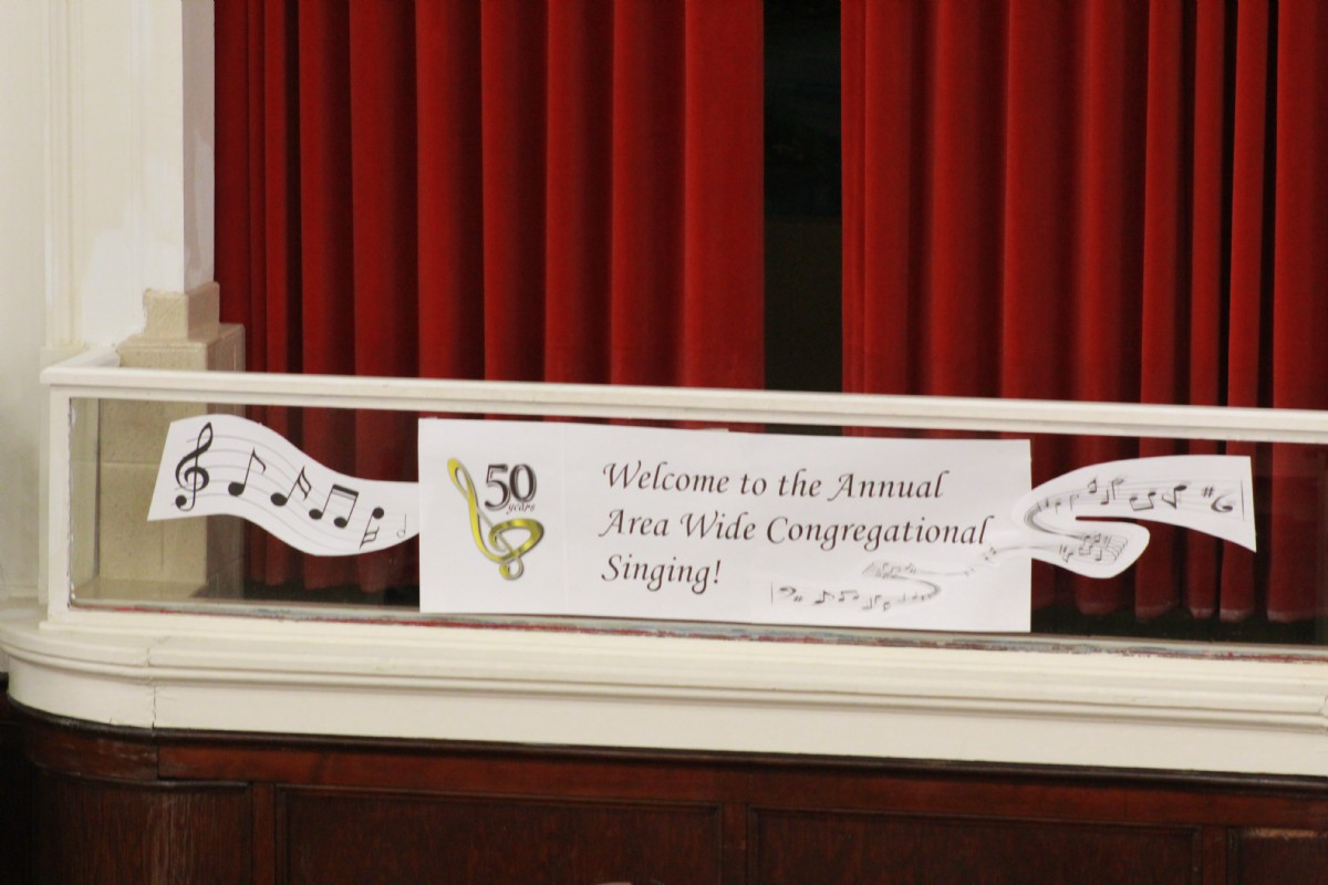 50th Annual Congregational Singing 2018